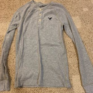 Men's Long Sleeve American Eagle Shirt